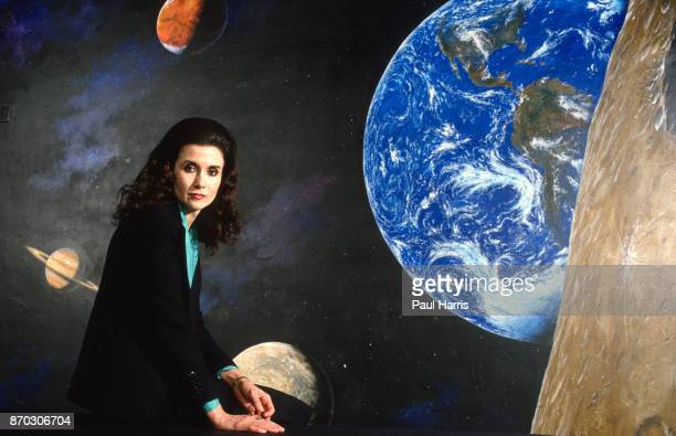 Marilyn Vos Savant photographed in San Diego she is an American who is known for previously having the highest recorded IQ according to the Guinness...