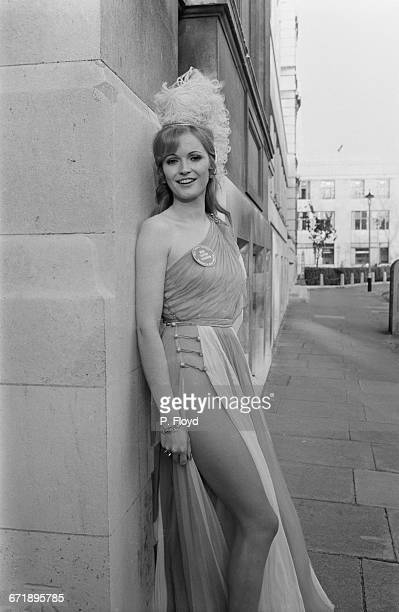 Marilyn Ward, Miss United Kingdom, at a Variety Club luncheon for the contestants in the Miss World contest, London, UK, 3rd November 1971.