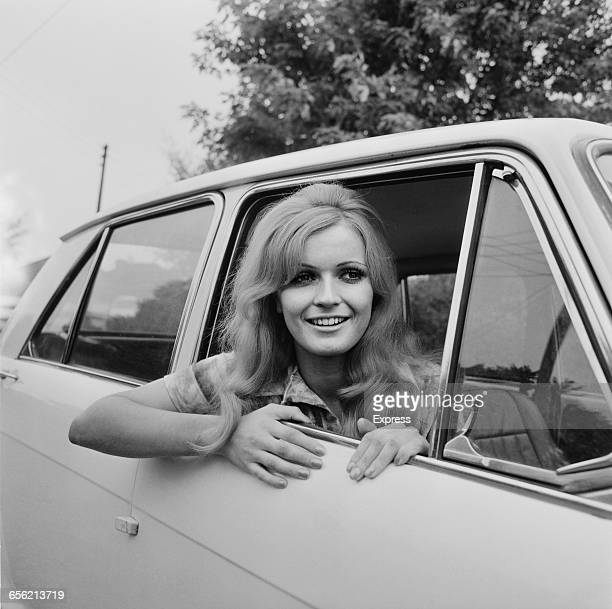 Marilyn Ward, who is Miss United Kingdom in the 1971 Miss World contest, UK, 22nd August 1971.