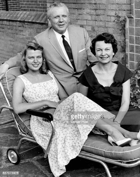 Marilyn With Her Parents Mr And Mrs Francis Van Derbur Credit Denver Post