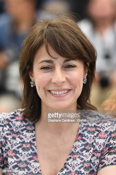Marilyne Canto attends the Dopo La Guerra Apres La Guerre photocall during the 70th annual Cannes Film Festival at Palais des Festivals on May 24...