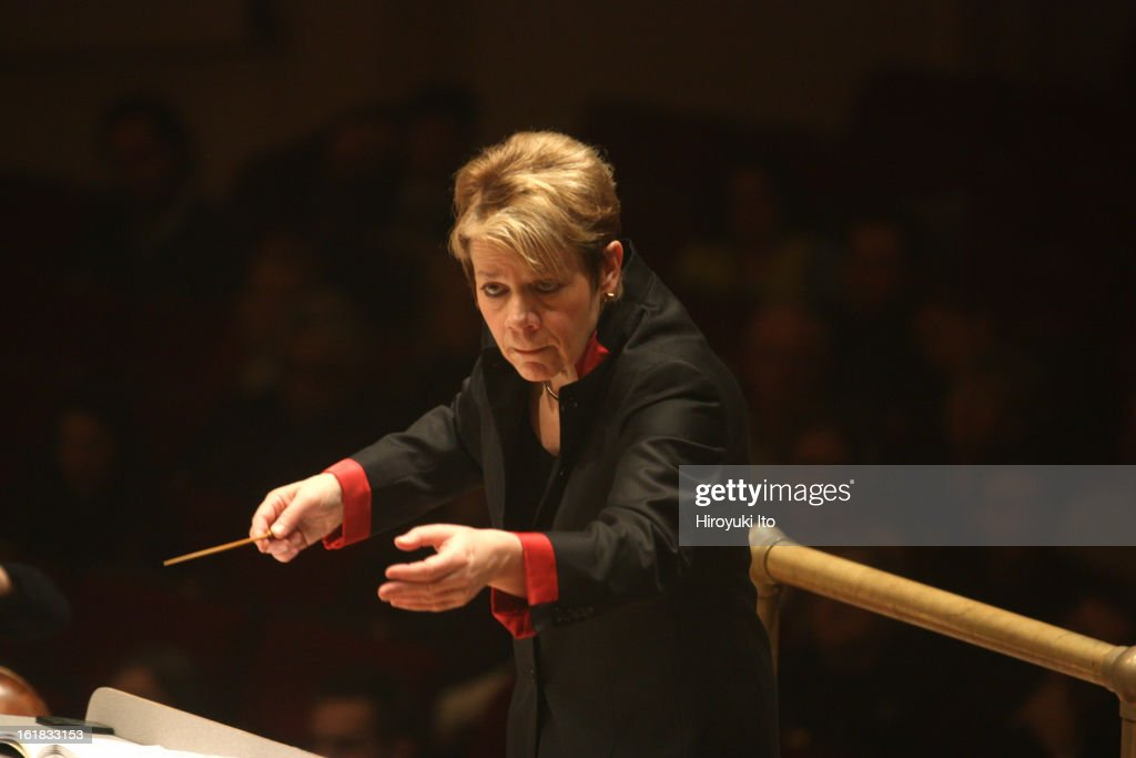 Marin Alsop : News Photo
