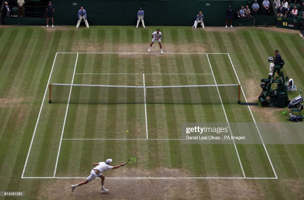 Wimbledon 2017 - Day Eleven - The All England Lawn Tennis and Croquet Club : News Photo