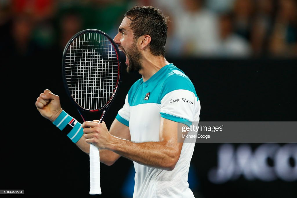 2018 Australian Open - Day 11 : News Photo