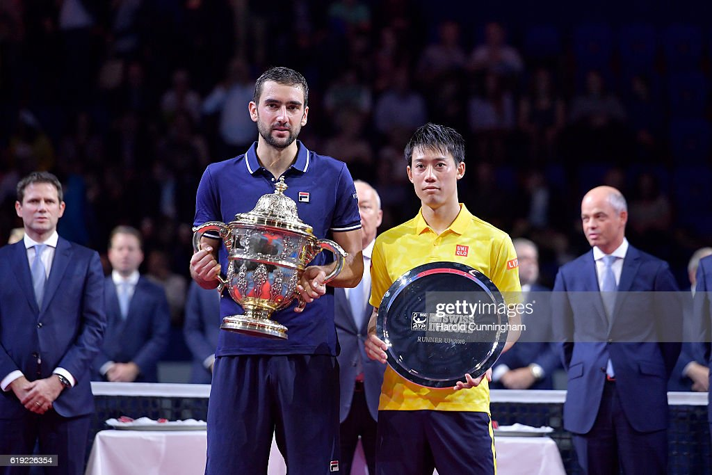 ATP World Tour Swiss Indoors Basel : ニュース写真