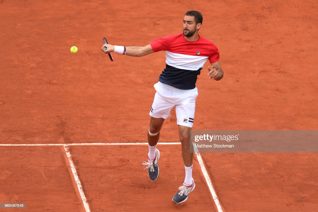 2018 French Open - Day Three : Nachrichtenfoto