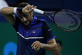 shanghai china marin cilic croatia reacts