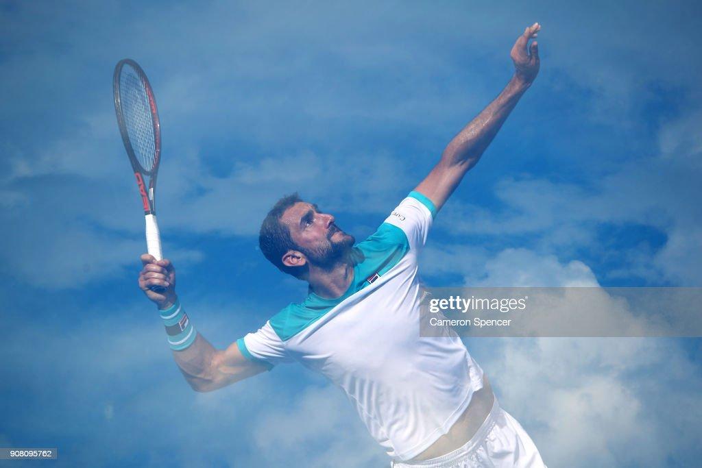 2018 Australian Open - Day 7 : Foto di attualità