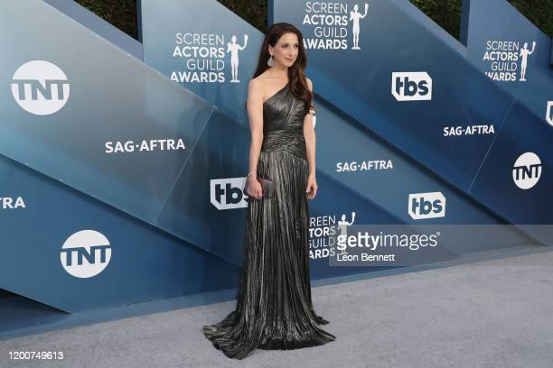 Marin Hinkle attends 26th Annual Screen Actors Guild Awards at The Shrine Auditorium on January 19 2020 in Los Angeles California