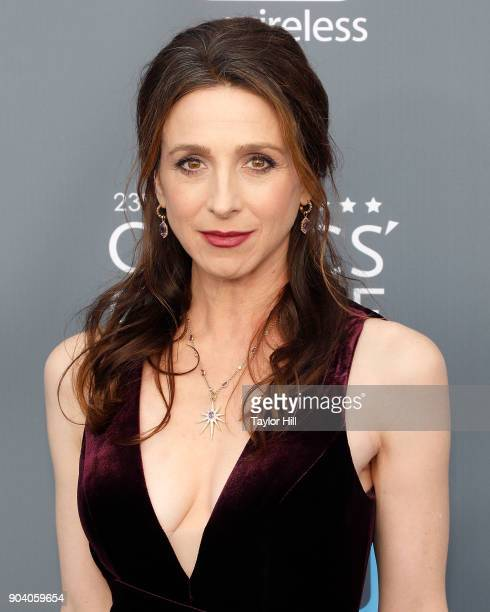 Marin Hinkle attends the 23rd Annual Critics' Choice Awards at Barker Hangar on January 11 2018 in Santa Monica California