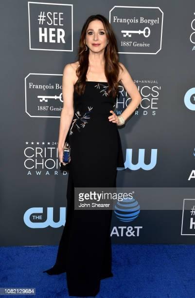Marin Hinkle attends the 24th Annual Critics' Choice Awards at Barker Hangar on January 13 2019 in Santa Monica California
