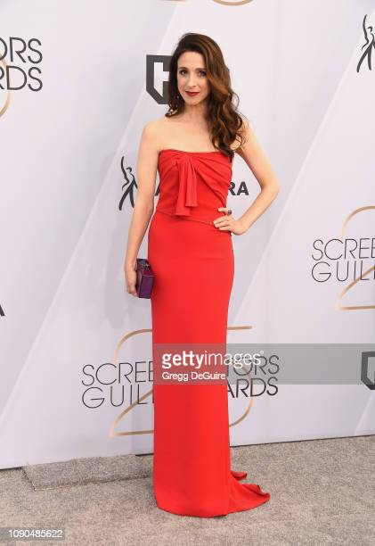 Marin Hinkle attends the 25th Annual Screen Actors Guild Awards at The Shrine Auditorium on January 27 2019 in Los Angeles California 480645