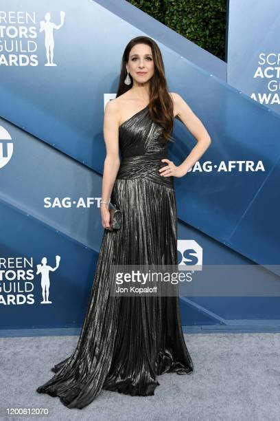Marin Hinkle attends the 26th Annual Screen Actors Guild Awards at The Shrine Auditorium on January 19 2020 in Los Angeles California