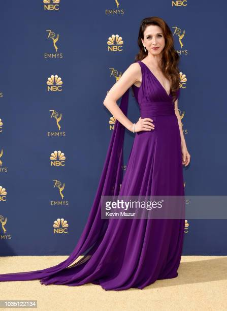 Marin Hinkle attends the 70th Emmy Awards at Microsoft Theater on September 17 2018 in Los Angeles California