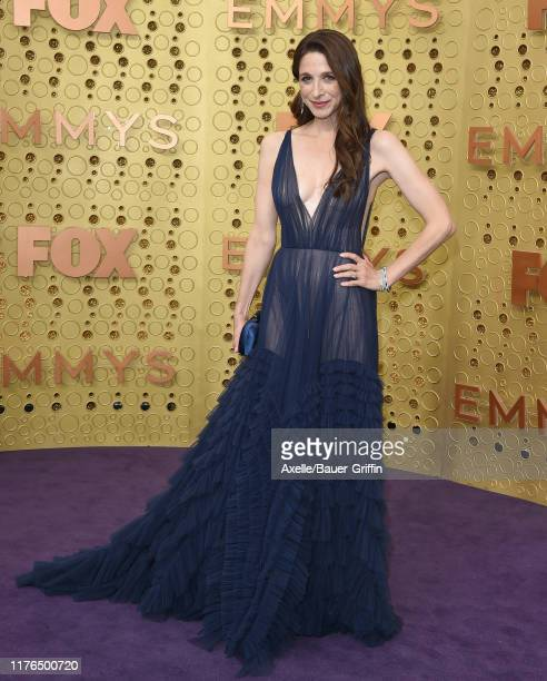 Marin Hinkle attends the 71st Emmy Awards at Microsoft Theater on September 22 2019 in Los Angeles California
