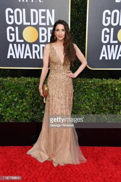 Marin Hinkle attends the 77th Annual Golden Globe Awards at The Beverly Hilton Hotel on January 05 2020 in Beverly Hills California