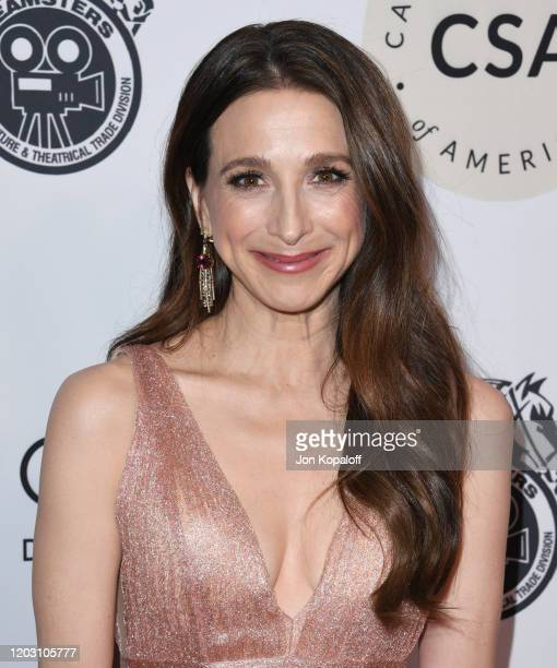 Marin Hinkle attends the Casting Society Of America's Artios Awards at The Beverly Hilton Hotel on January 30 2020 in Beverly Hills California