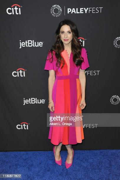 Marin Hinkle attends The Paley Center For Media's 2019 PaleyFest LA Opening Night Presentation Amazon Prime Video's The Marvelous Mrs Maisel held at...