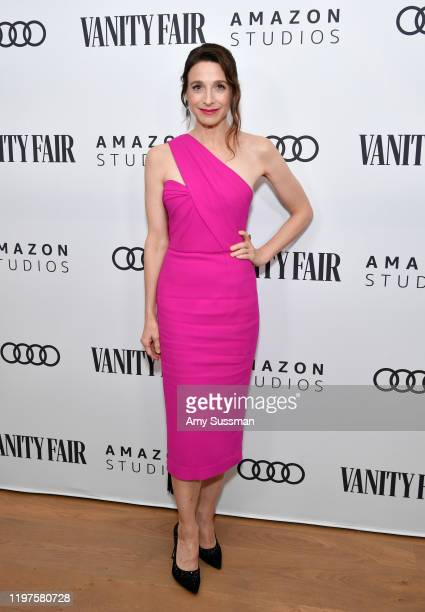 Marin Hinkle attends The Vanity Fair x Amazon Studios 2020 Awards Season Celebration at San Vicente Bungalows on January 04 2020 in West Hollywood...
