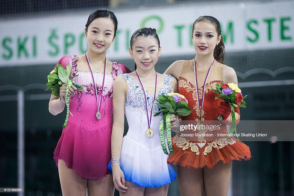 ISU Junior Grand Prix of Figure Skating - Ljubljana Day 3 : News Photo