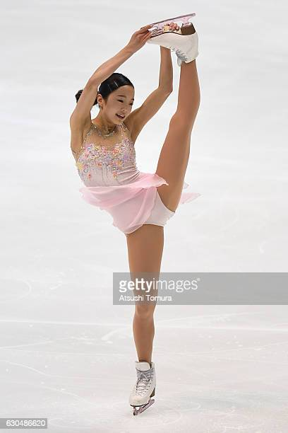 Marin Honda of Japan competes in the Ladies short program during the Japan Figure Skating Championships 2016 on December 24 2016 in Kadoma Japan