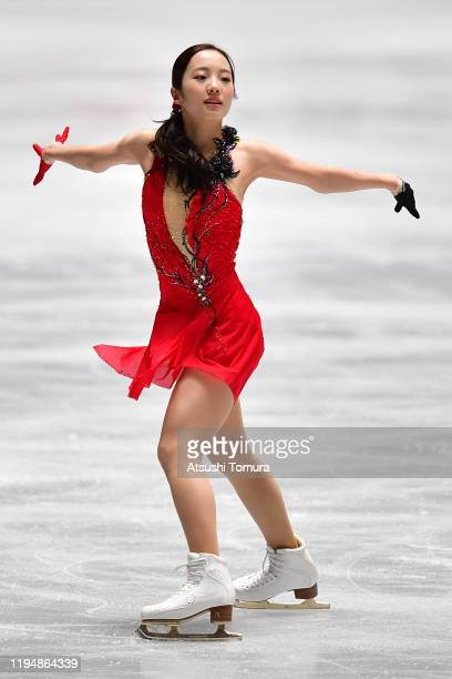 Marin Honda of Japan performs in the ladies short program during day one of the 88th All Japan Figure Skating Championships at the Yoyogi National...