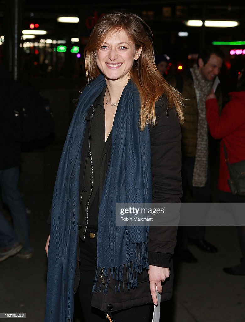 Marin Ireland attends 'Talley's Folly' Opening Night at Laura Pels Theatre at the Harold & Miriam Steinberg Center for on March 5, 2013 in New York City.