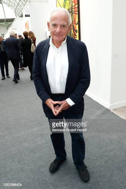 Marin Karmitz attends the FIAC 2018 International Contemporary Art Fair Press Preview at Grand Palais on October 17 2018 in Paris France