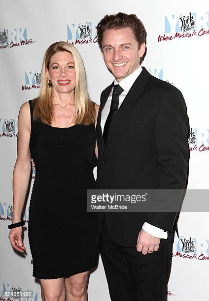 Marin Mazzie and Jason Danieley attending the York Theatre Company's 21st Annual Oscar Hammerstein Award Gala at the Edison Ballroom in New York City...