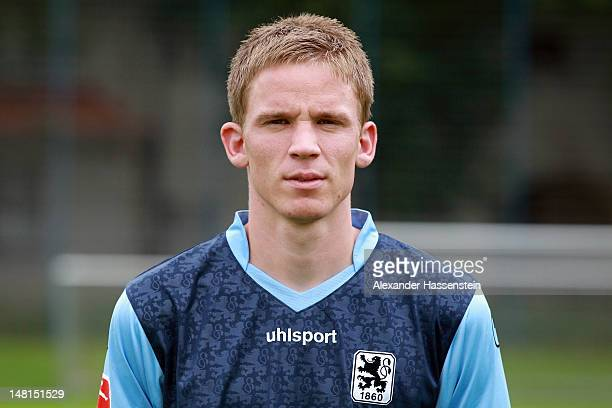 Marin Tomasov of 1860 Muenchen poses during the Second Bundesliga team presentation of TSV 1860 Muenchen on July 11 2012 in Munich Germany