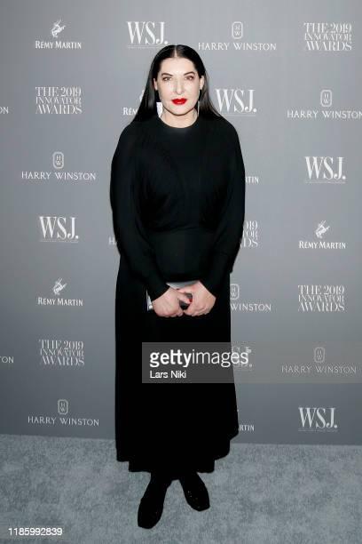 Marina Abramović attends the WSJ. Magazine 2019 Innovator Awards sponsored by Harry Winston and Rémy Martinat MOMA on November 06, 2019 in New York...