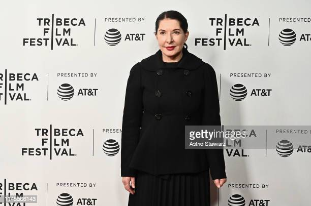 Marina Abramovic attends Gully screening at 2019 Tribeca Film Festival at SVA Theater on April 27 2019 in New York City