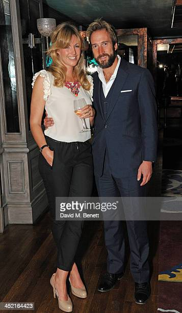 Marina and Ben Fogle attends a drinks reception hosted by Ben Fogle and Bernie Shrosbree to celebrate Johnnie Walker Blue Label Alfred Dunhill 'A...
