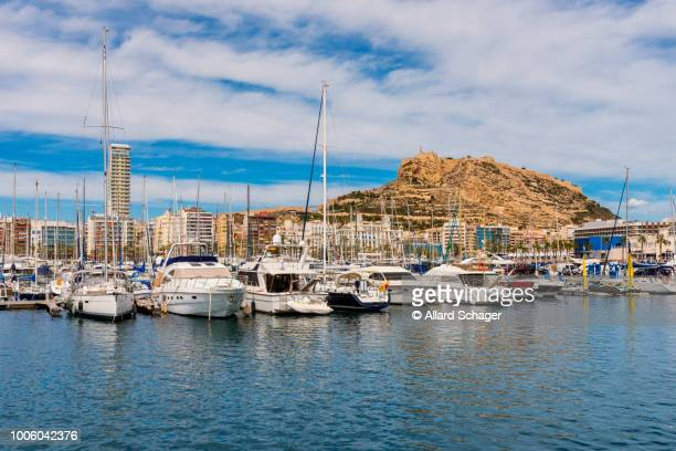 Marina and Skyline of Alicante Spain