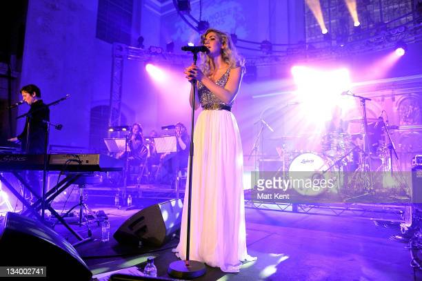 Marina and the Diamonds performs at day 2 of Mencap's Little Noise Sessions raising money for Mencap at St JohnatHackney Church on November 23 2011...
