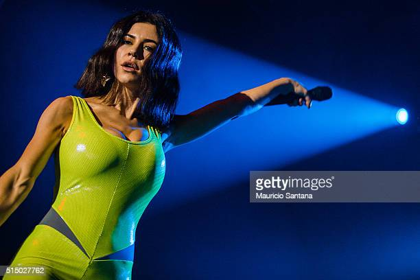 Marina and The Diamonds performs live on stage on March 11 2016 in Sao Paulo Brazil