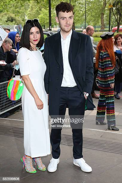 Marina and the Diamonds seen arriving for the Ivor Novello Awards at Grosvenor House on May 19 2016 in London England