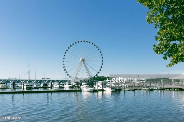 marina at national harbor - potomac maryland stock pictures, royalty-free photos & images