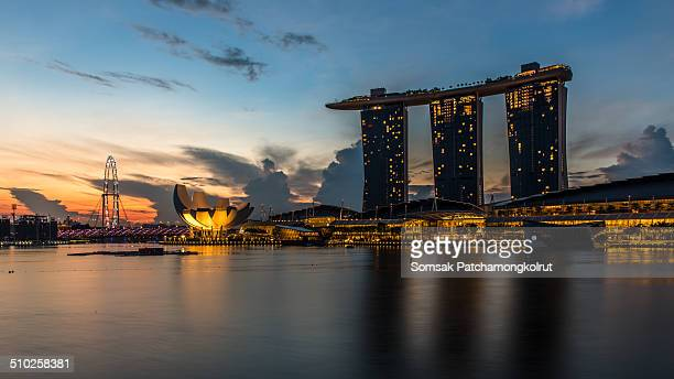 Marina Bay is a bay near Central Area in the southern part of Singapore, and lies to the east of the Downtown Core. The area surrounding the bay...