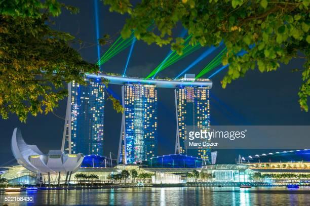 Marina bay laser