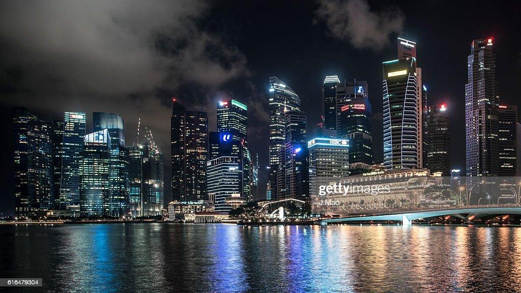 Marina bay : Stock Photo