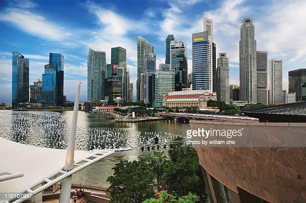 Marina Bay Sand, Singapore skyline