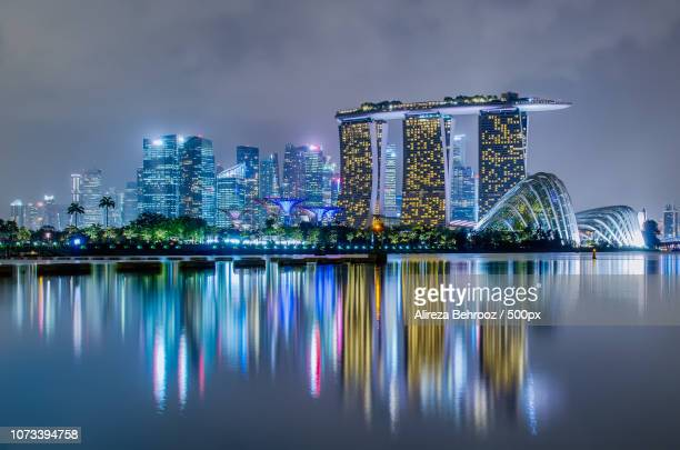 Marina bay sands and gardens by the bay, Singapore