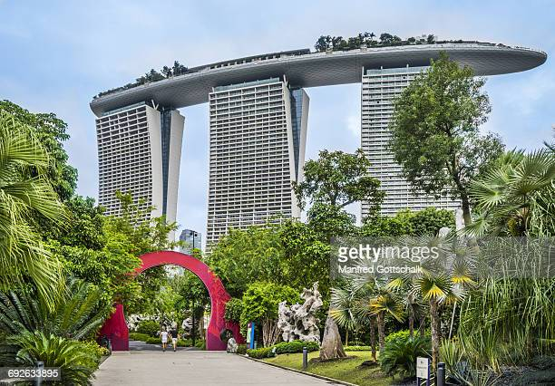 Marina Bay Sands from Gardens by the Bay