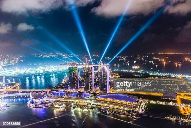 Marina Bay Sands Hotel Light Show, Singapore