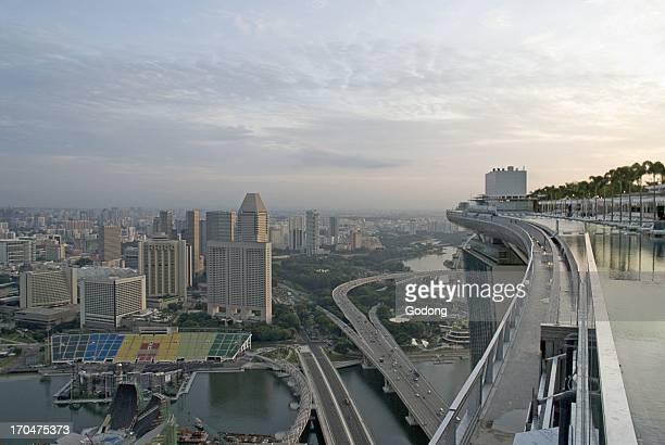 Marina Bay Sands hotel Singapore Singapore Singapore