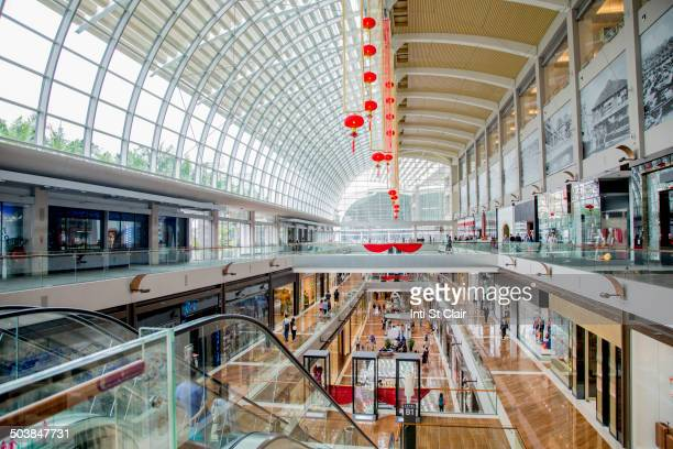 Marina Bay Sands Mall in Singapore, Republic of Singapore
