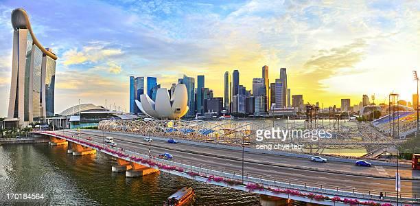 marina bay sands - marina bay singapore stock pictures, royalty-free photos & images