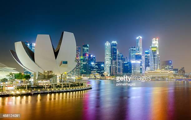 Marina Bay Singapore Urban Landscape