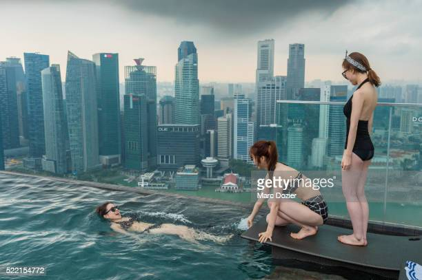 Marina Bay swimming-pool